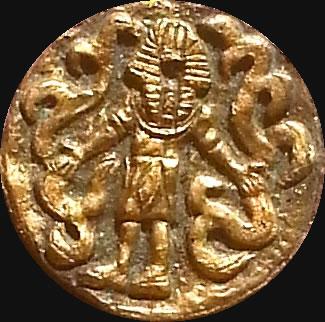 Nyarlathotep (Relief-Scheibe aus Resin) - Kult-Objekt