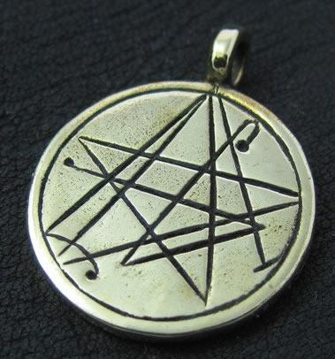 Nekronomicon Zeichen nach Simon (Bronze-Amulett)