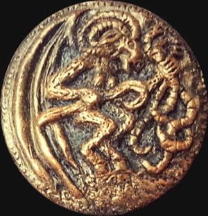 Shub Niggurath - Ganz [mF] (Relief-Scheibe aus Resin) - Kult-Objekt