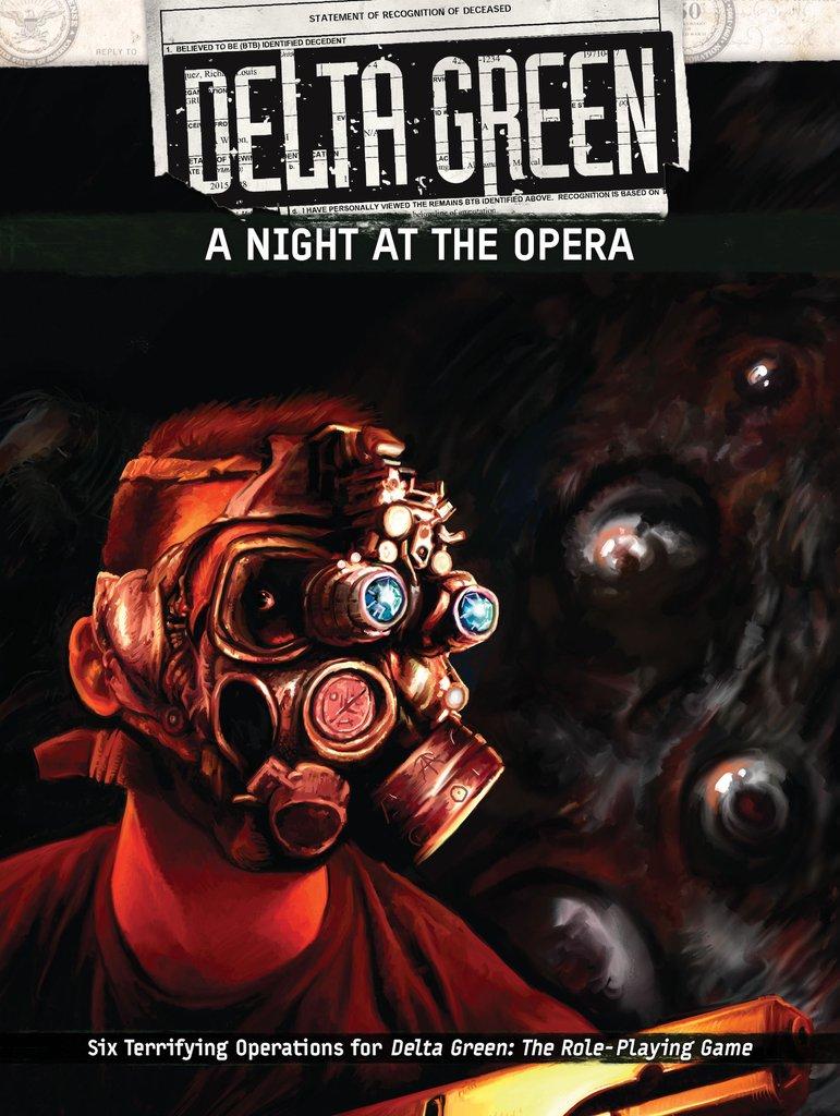 DELTA GREEN: A Night at the Opera - 6 Szenarien (englisch)