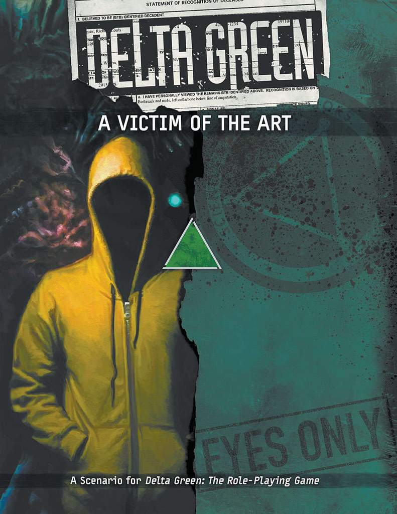DELTA GREEN: A Victim of the Art - 1 Szenario (englisch)