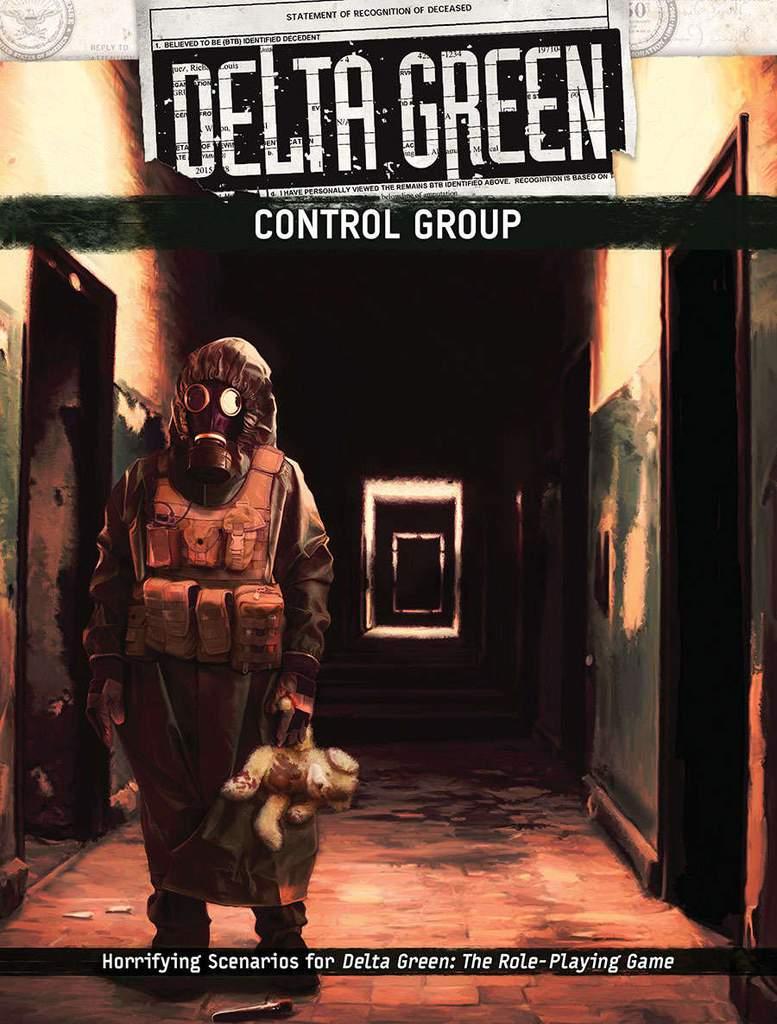 DELTA GREEN: Control Group - 4 Szenarien (englisch)