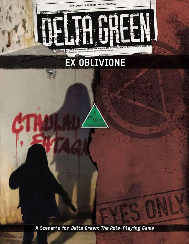 DELTA GREEN: Ex Oblivione - 1 Szenario (englisch)