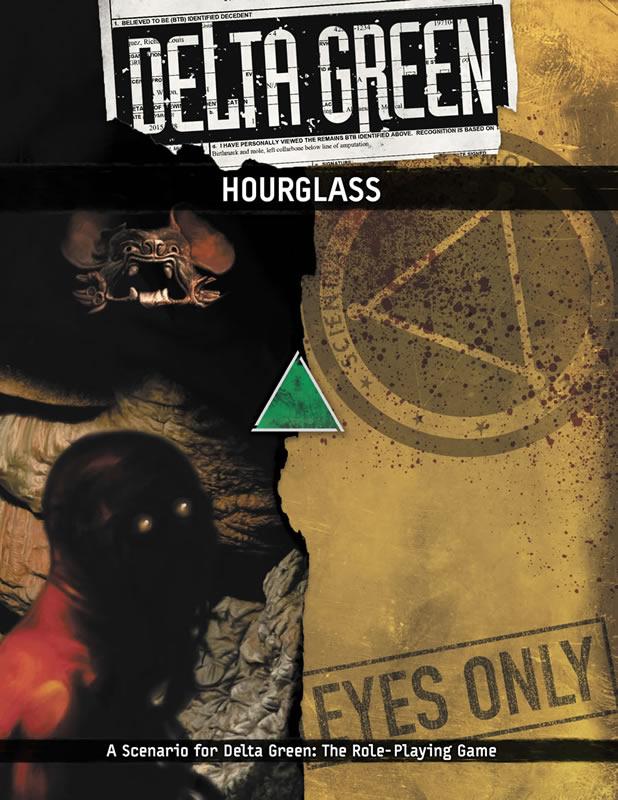 DELTA GREEN: Hourglass - 1 Szenario (englisch)