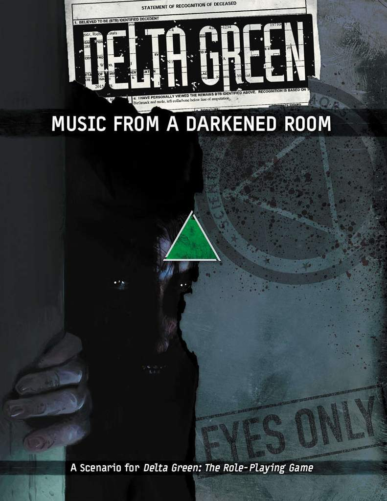 DELTA GREEN: Music from a Darkened Room - 1 Szenario (englisch)