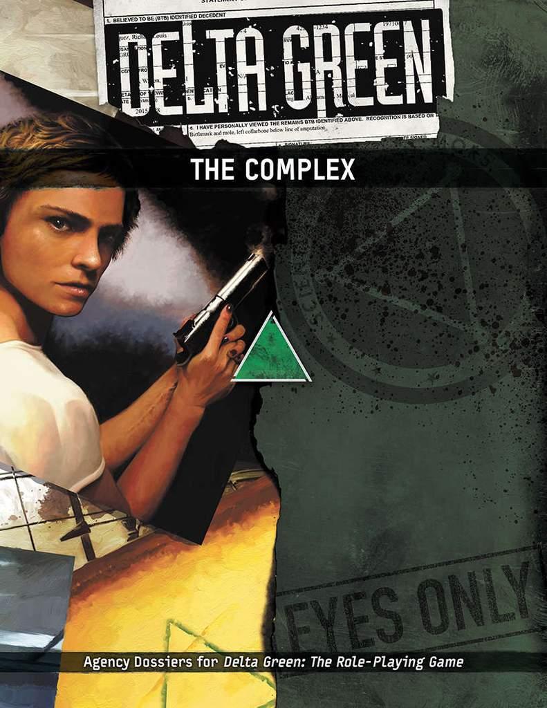 DELTA GREEN: The Complex - Quellenbuch (englisch)