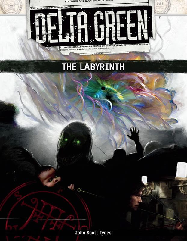 DELTA GREEN: The Labyrinth - Quellenbuch (englisch)