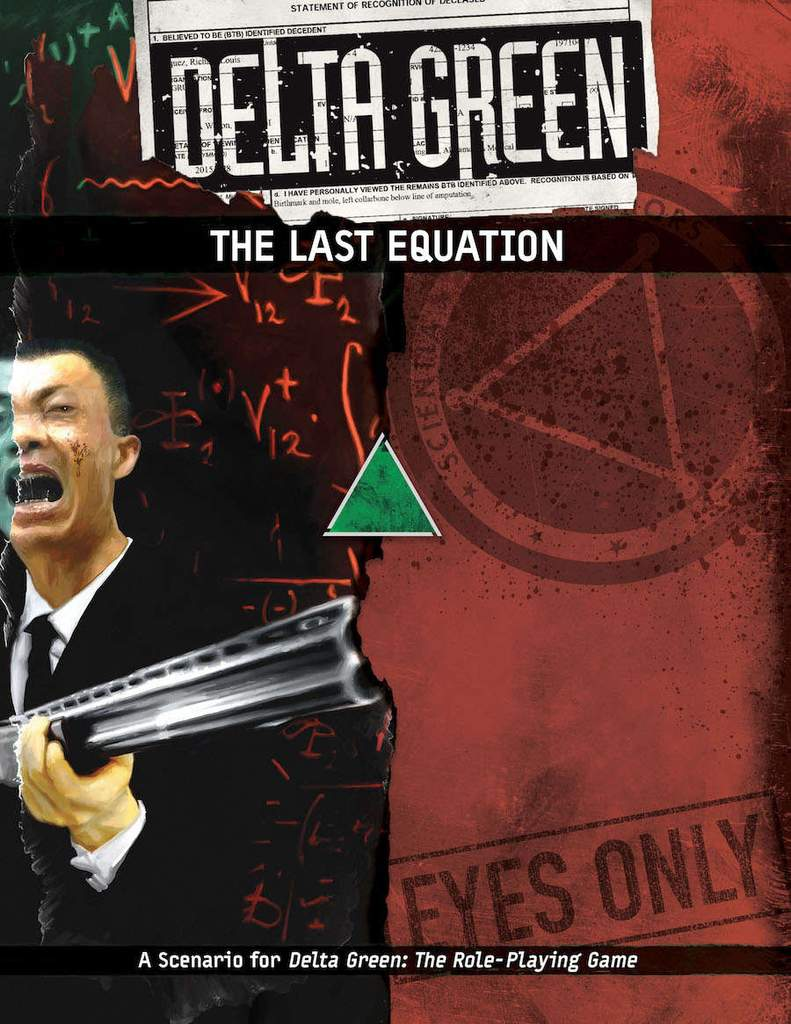 DELTA GREEN: The Last Equation - 1 Szenario (englisch)