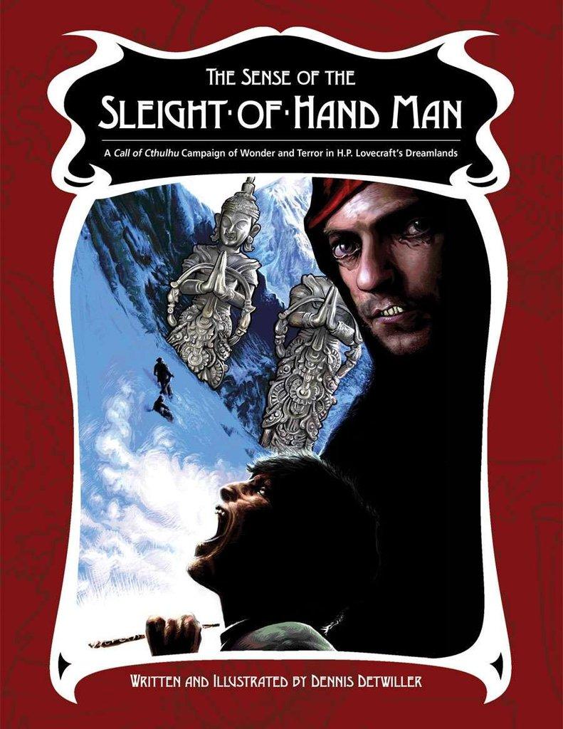 Sense of the Sleight of Hand Man - Quellenbuch (englisch)