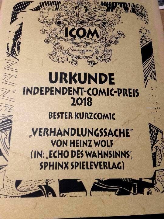 Independent-Comic-Preis 2018
