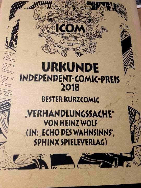 Independent-Comic-Preis 2018
