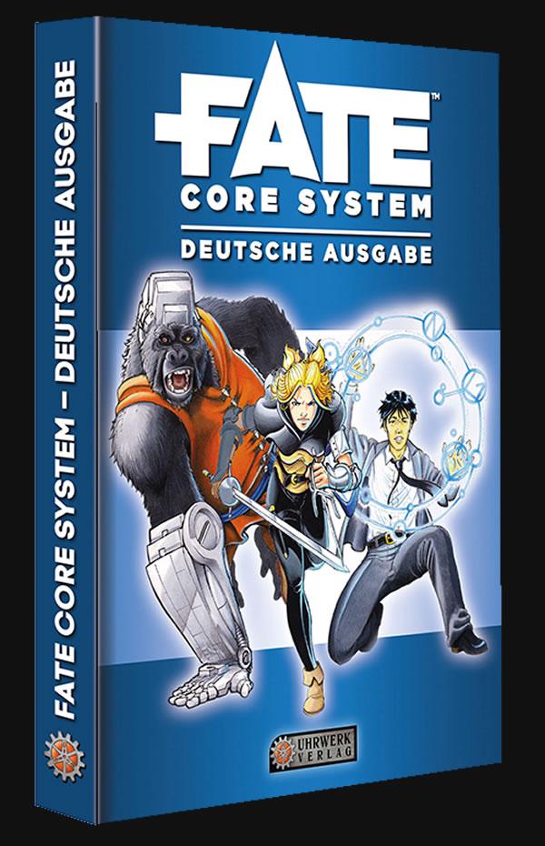 Fate Core: deutsche Ausgabe - Regelbuch (Rollenspielsystem)