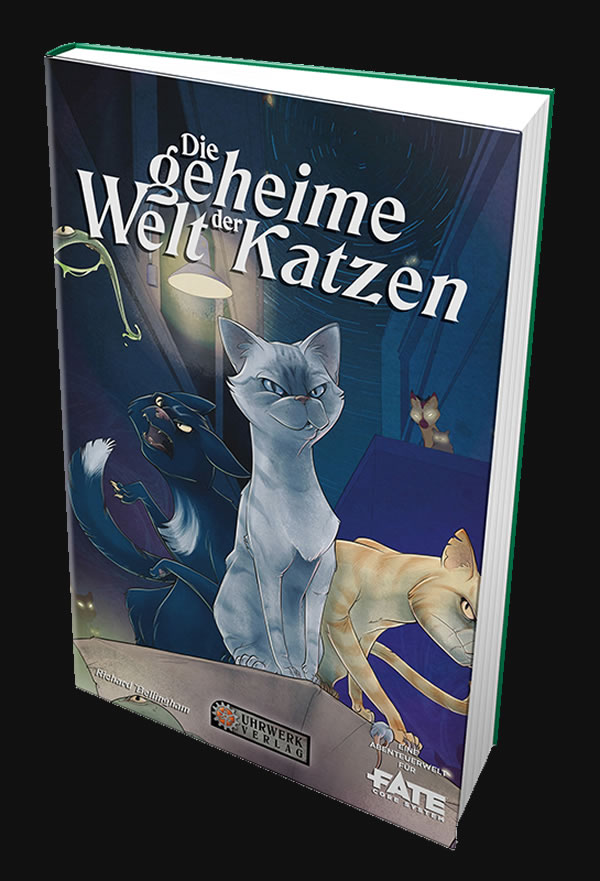 Fate: Die geheime Welt der Katzen - Quellen- Abenteuer- & Regelband