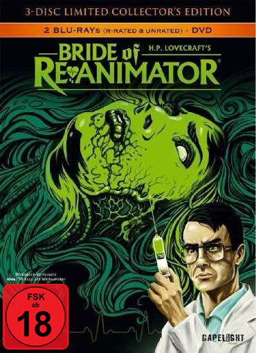 Bride of Re-Animator (2 Blu-rays, 1 DVD) - (3-Disc Limited Collector's Edition)