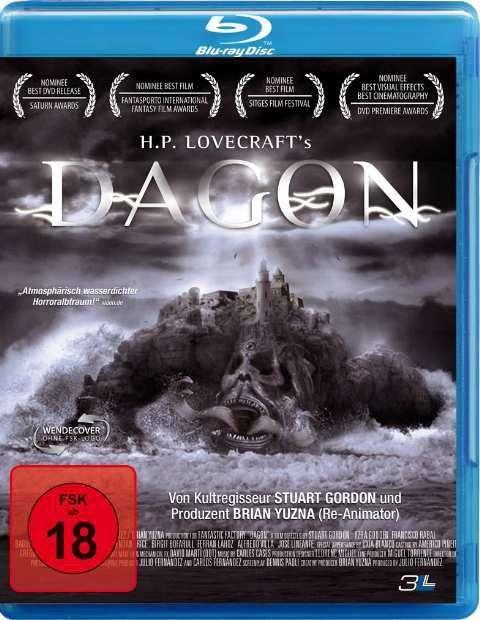 Dagon (Blu-ray) - Ein Film, der auf Erzählungen von H.P. Lovecraft basiert.
