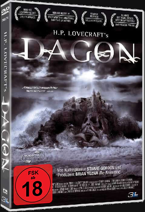 Dagon (DVD) - Ein Film, der auf Erzählungen von H.P. Lovecraft basiert.