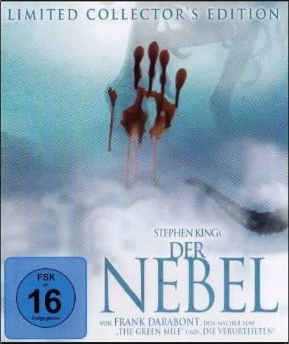 Der Nebel (Blu-ray) - Eine Horrorgeschichte von Stephen King mit starken Bezügen zum Cthulhu Mythos.