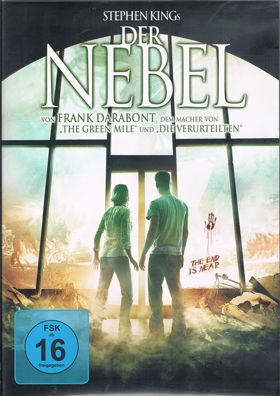 Der Nebel (DVD) - Eine Horrorgeschichte von Stephen King mit starken Bezügen zum Cthulhu Mythos.