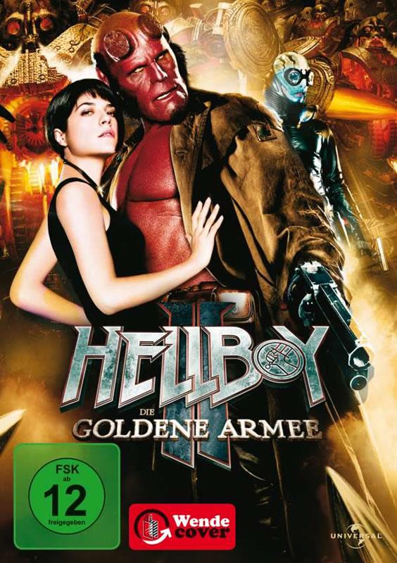 Hellboy 2: Die goldene Armee - (DVD)
