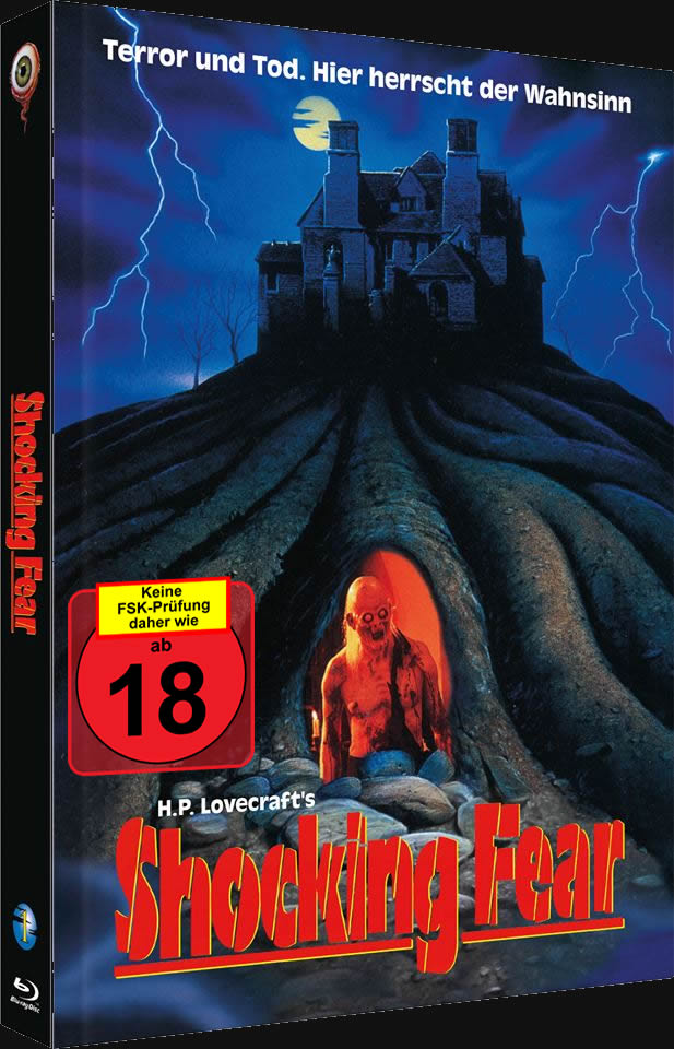 The Lurking Fear (Blu-ray & DVD im Digipack) - Version: Shocking Fear  Limitiert auf 222 Stück