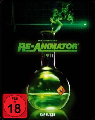 Re-Animator / Bride of Re-Animator - (Blu-ray im Steelbook)