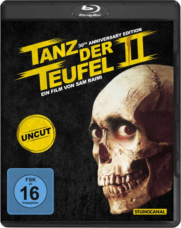Tanz der Teufel 2 - UNCUT / Digital Remastered - (Blu-ray)