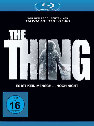 The Thing (2011) - (Blu-ray)