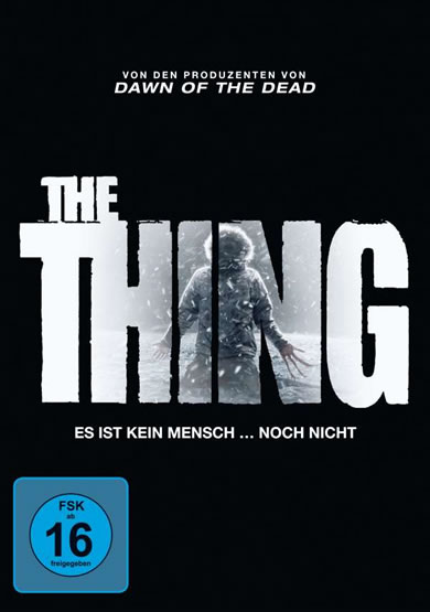 The Thing (2011) - (DVD)