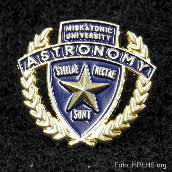 Miskatonic Universitäts Anstecknadel - Astronomy