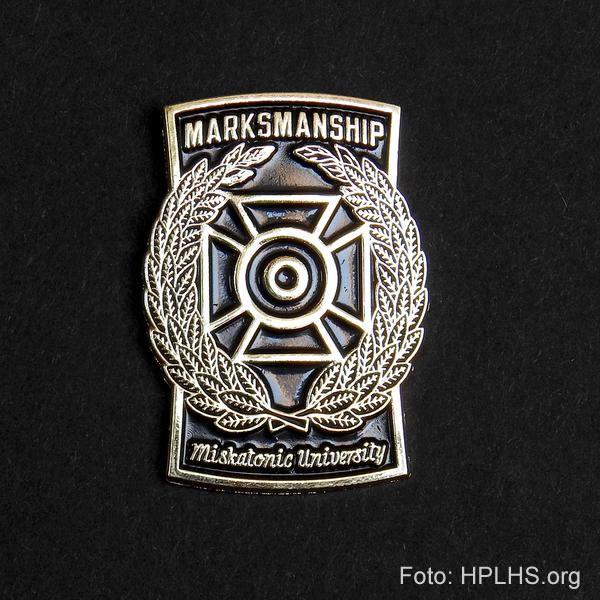 Miskatonic Universitäts Anstecknadel - Marksmanship
