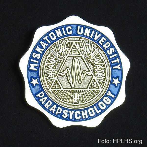 Miskatonic Universitäts Anstecknadel - Parapsychology