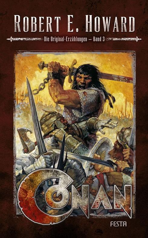 Conan - Band 3 (Hardcover) - Autor: Robert E. Howard