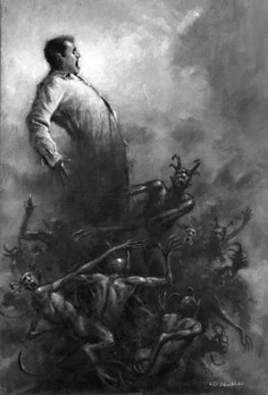 Sämtliche Geistergeschichten - Band 1 - Autor: M.R. James - Illustration