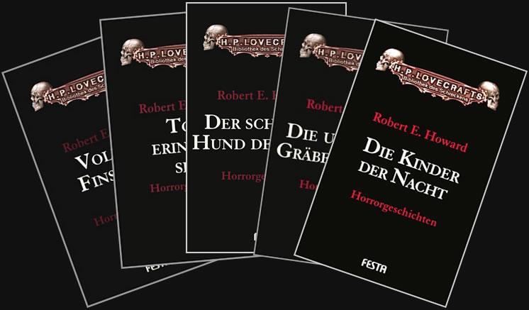 Robert E. Howard unheimlichen Geschichten (5 Bände)