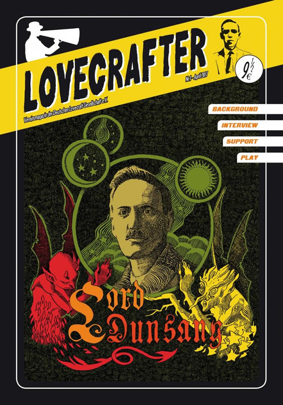 Lovecrafter Nr.1 - April 2017 (Das Vereinsmagazin der Deutschen Lovecraft Gesellschaft)
