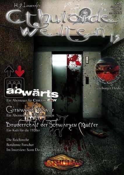 Cthuloide Welten - Ausgabe Nr.15  - NEU - (einzelne Sammlerstücke)