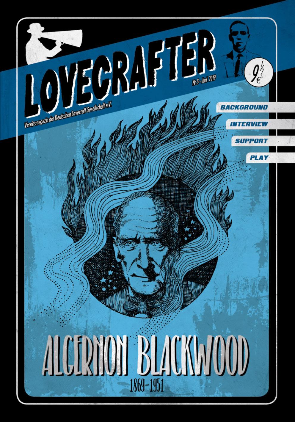 Lovecrafter Nr.5 - Juni 2019 (Das Vereinsmagazin der Deutschen Lovecraft Gesellschaft)