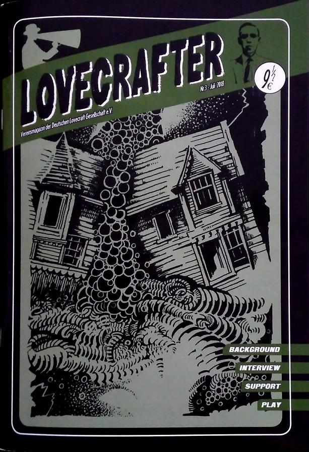 Lovecrafter Nr.3 - Juli 2018 (Das Vereinsmagazin der Deutschen Lovecraft Gesellschaft)