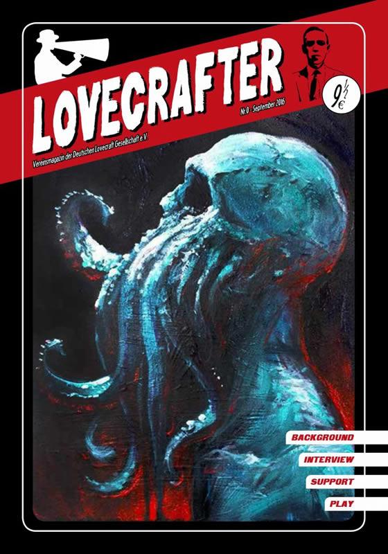 Lovecrafter Nr.0 - September 2016 (Das neue Vereinsmagazin der Deutschen Lovecraft Gesellschaft)