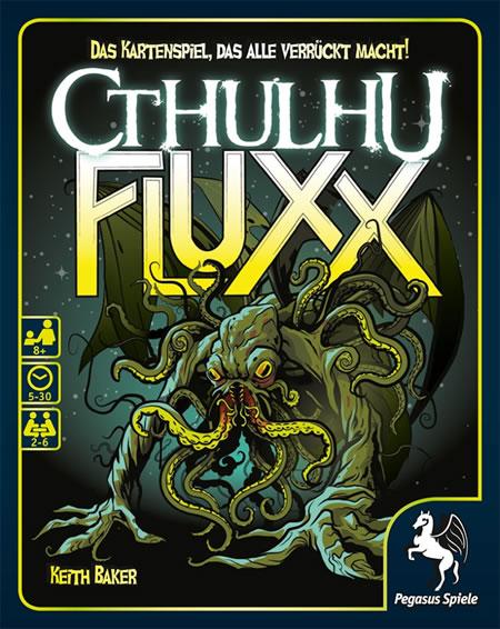 Cthulhu Fluxx (deutsch) - Das Kartenspiel, das alle verrückt macht!