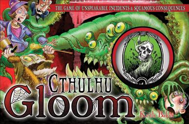 Cthulhu Gloom - Das Spiel mit transparenten Karten (englisch)