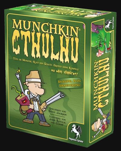 Munchkin Cthulhu 1+2 - Basisspiel plus Erweiterung!