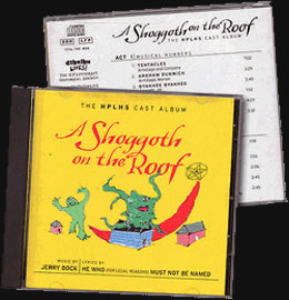 A Shoggoth on the Roof (CD) - Eine Parodie auf <i>Cthulhu</i> und das Musical <i>Fiddler on the Roof</i>