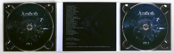 Cryo Chambers Azathoth CD