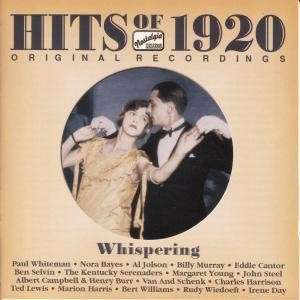 Hits of 1920 (1 CD) - Jazz Sampler