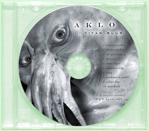 TITAN BLUR (1 CD) - Aklo