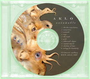 UNNAMABLE (1 CD) - Aklo