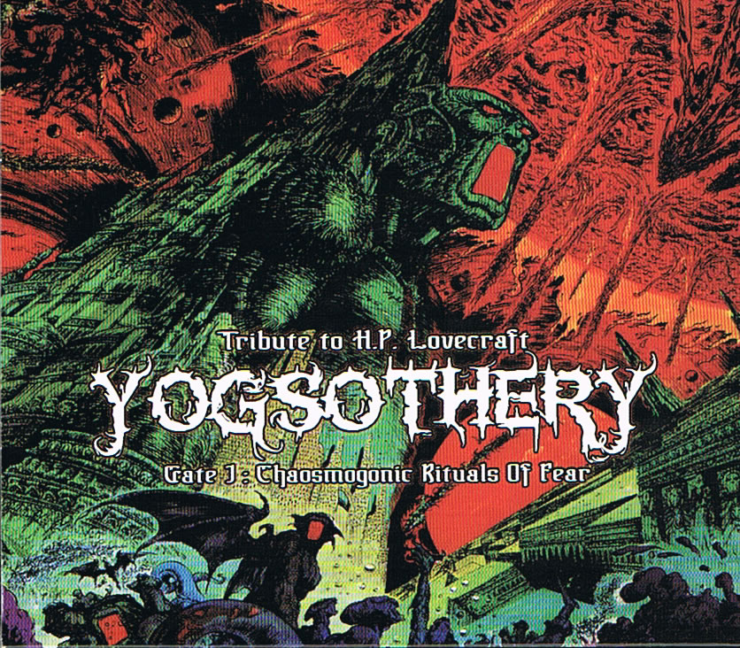 Yogsothery (1 CD) - Gate 1: Chaosmogonic Rituals of Fear