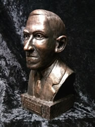 H.P. Lovecraft Büste
