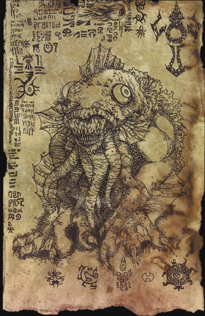 Unaussprechliches Dokument 004 - Anbetung von Dagon